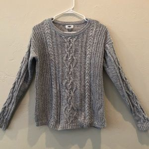 Old Navy gray sweater- size Large